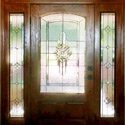 Stained Glass Sidelights Denver
