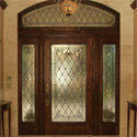 Denver Entryway Stained Glass Sidelights