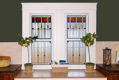 Frank Lloyd Wright Stained Glass San Antonio