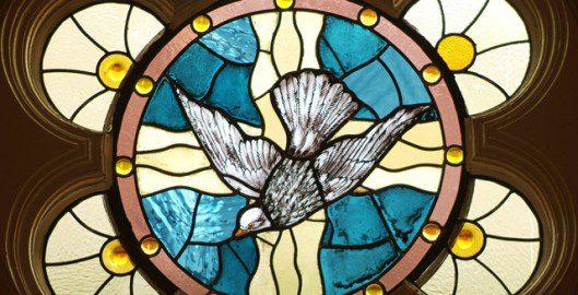 San Antonio Church Stained Glass