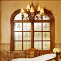 Denver Stained Glass Bathroom Windows