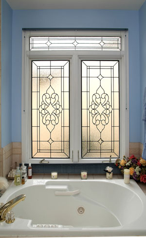 Bathroom Windows stained glass bathroom windows | denver stained glass