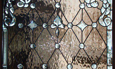 custom Stained Glass Detail Denver