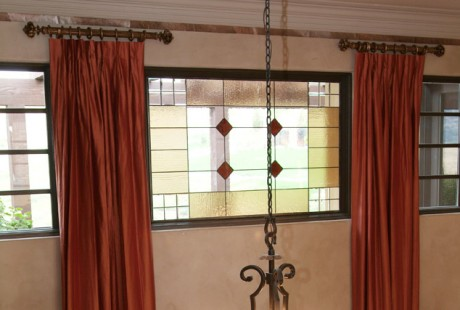 Transom Stained Glass Windows San Antonio