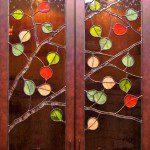 Denver Stained Glass Aspen Trees