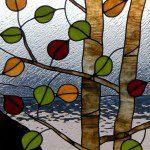 Aspen tree-denver stained glass