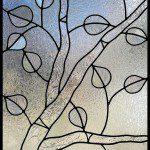 Aspen tree stained glass - denver