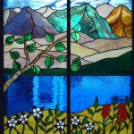 Aspen tree stained glass - denver co stained glass