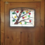 Aspen tree stained glass - denver stained glass