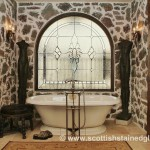 bathroom-stained-glass-denver-rustic