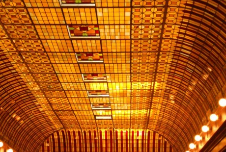 boulderado hotel stained glass repair restoration