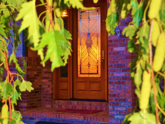 entryway stained glass doors denver