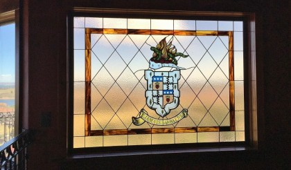 family crest stained glass denver