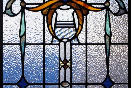 antique stained glass installation denver