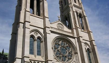 denver church stained glass cathedral basilica