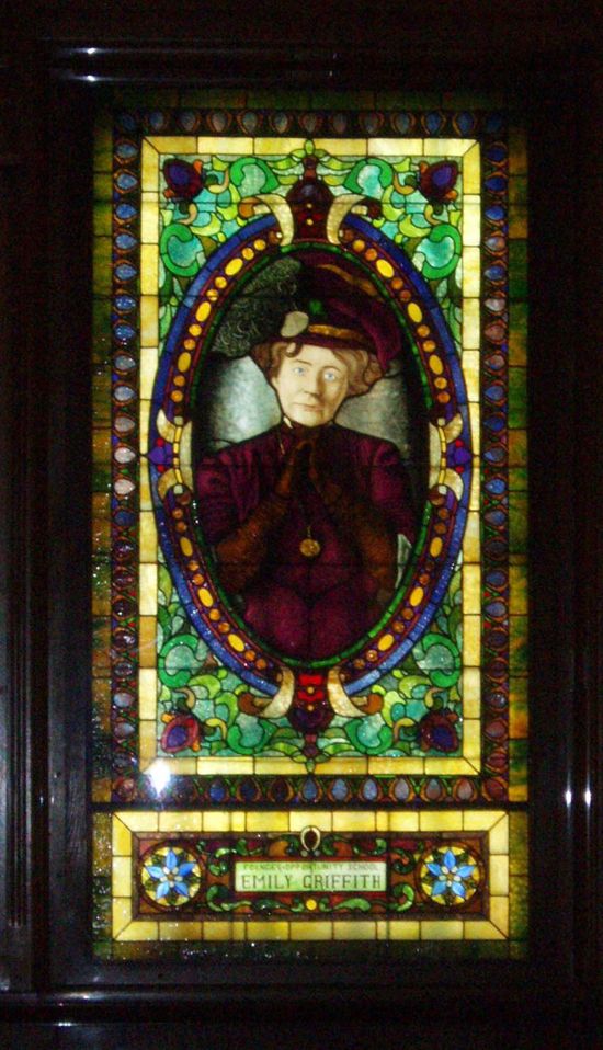 historic stained glass colorado emily griffith
