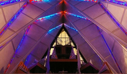 us air force chapel stained glass denver