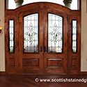 Denver Stained Glass Entryway Doors