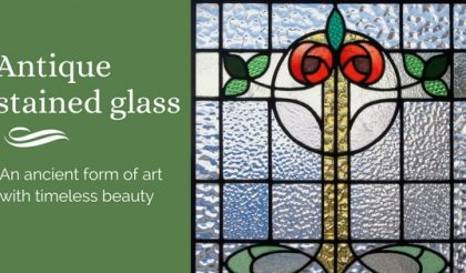 where to add antique stained glass to your denver home