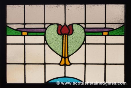 antique stained glass window denver