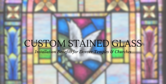 custom stained glass denver churches