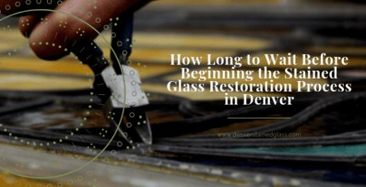 stained glass restoration process denver