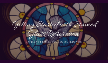 stained glass restoration denver historic buildings
