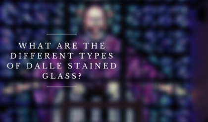 types dalle stained glass denver