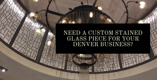 custom stained glass denver business
